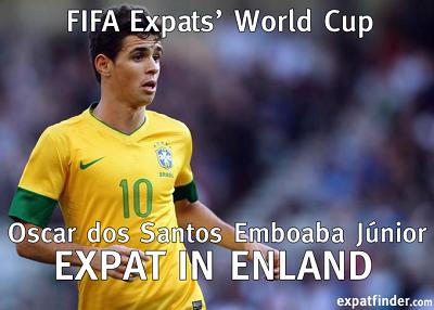 Brazil World Cup 2014 – Expat Profile: Oscar Emboaba ...
